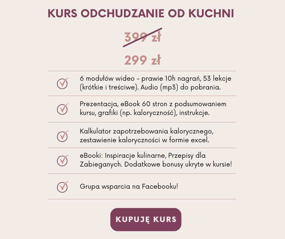 Psychodietetyk Agata Jasińska Szczęście od kuchni Kurs Odchudzanie od kuchni